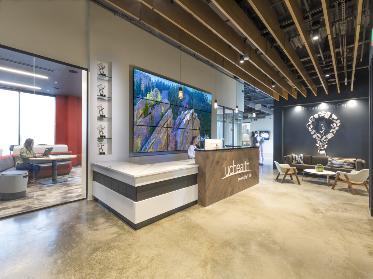 BOOTS Completes UCHealth's  15,000-SF Office Space at Catalyst HTI