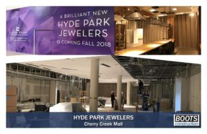 BOOTS begins the Remodel<BR> for Hyde Park Jewelers