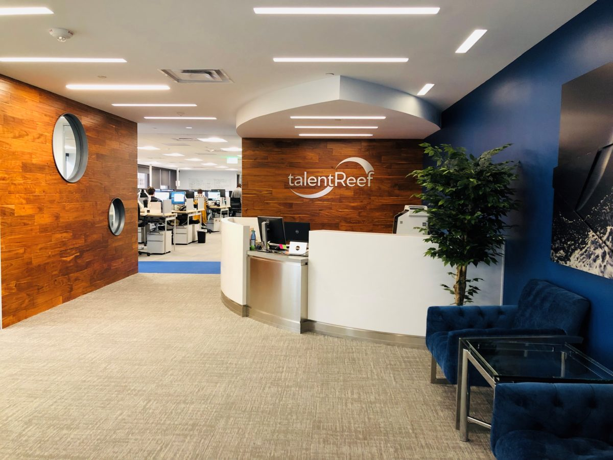 Boots completes  talentReef's new  40,000 SF Office